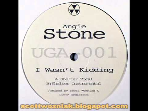 Angie Stone - I Wasn't Kidding (Scott Wozniak & Timmy Regisford Shelter Remix)