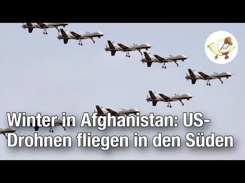Winter in Afghanistan: US-Kampfdrohnen fliegen in den Süden [Postillon24]