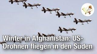 Winter in Afghanistan: US-Kampfdrohnen fliegen in den Süden