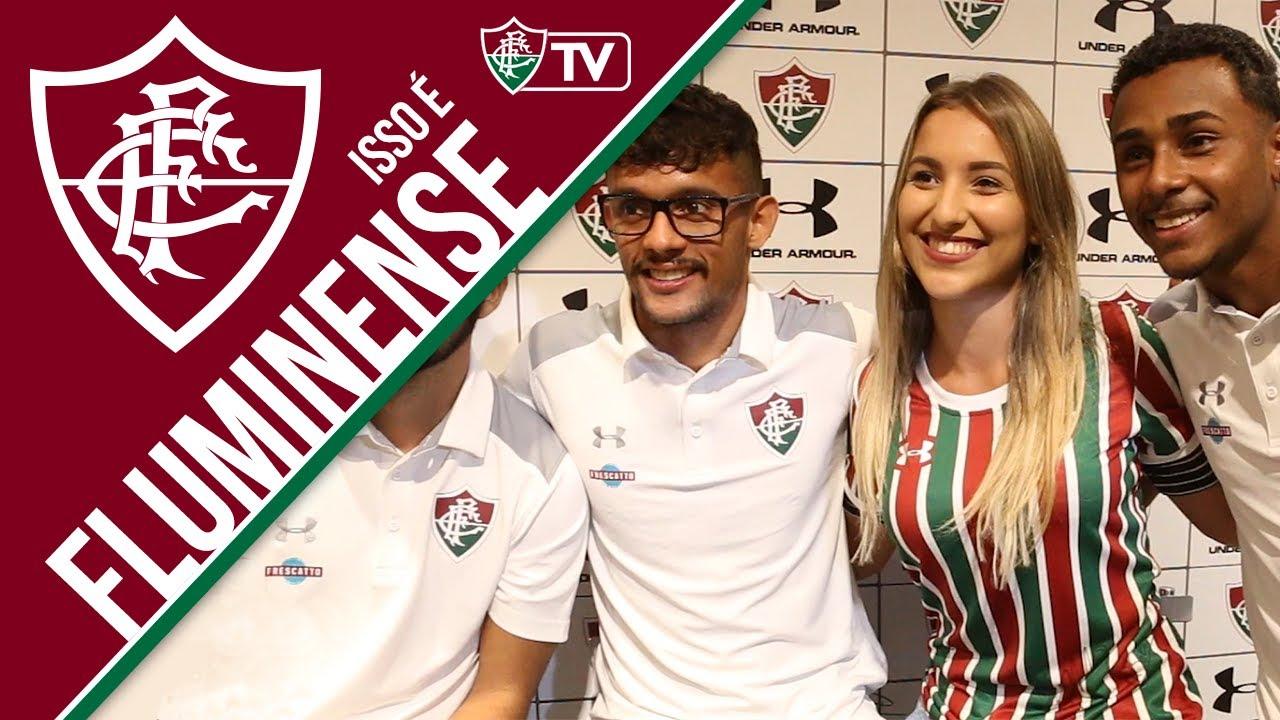 c7010d4eb3f FluTV - Lançamento dos novos uniformes do Fluminense   Under Armour ...