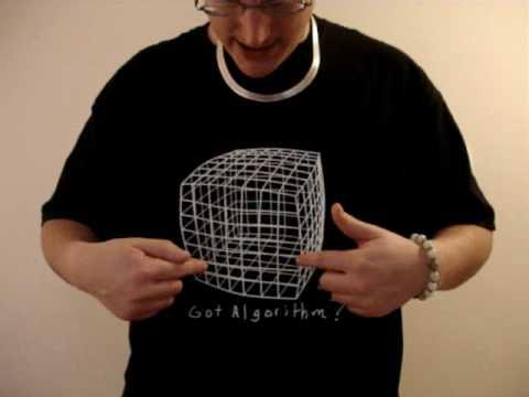 rubik 39 s cubes t shirts youtube. Black Bedroom Furniture Sets. Home Design Ideas