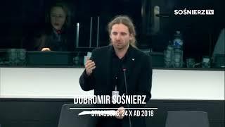 """""""Rezolucja ws. wzrostu liczby neofaszystowskich aktów przemocy w Europie"""",  świetna odp. Sośnierza!"""