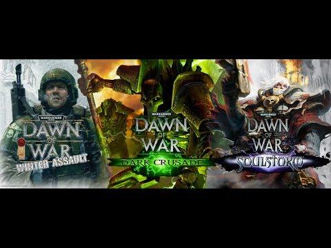 Обзор Warhammer 40k: Dawn of War - Winter Assault, Dark Crusade, Soulstorm (Greed71 Review)