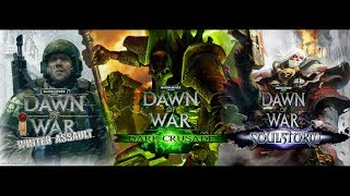 Обзор Warhammer 40k: Dawn of War - Winter Assault, Dark Crusade, Soulstorm (Greed71 Review)