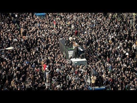 Iranians rebel at former President Rafsanjani's funeral