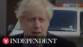 Boris Johnson hails Covid 'bounce back' in Hartlepool