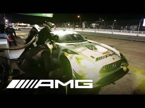 Mercedes-AMG Customer Racing – Night Pit Stop 12H Sebring 2017