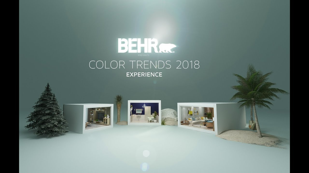 Behr color trends 2018 vr 360 experience youtube Behr color of the year 2017