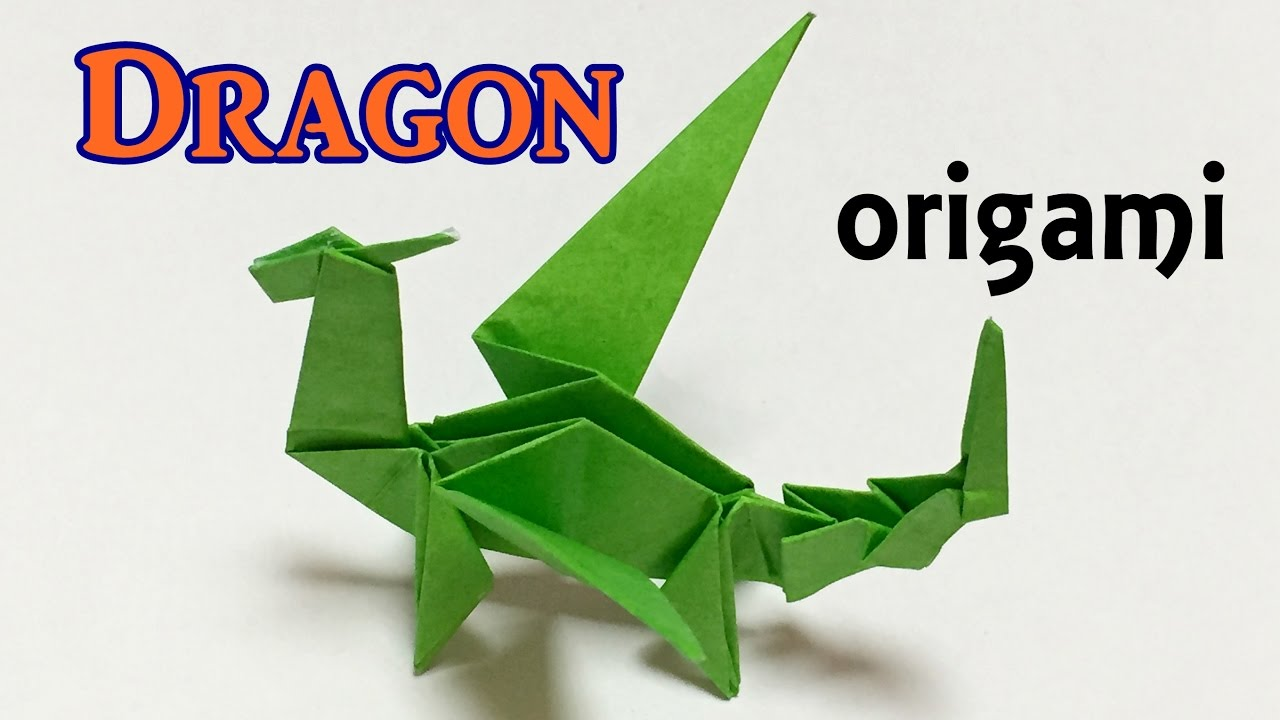 Origami Dragon Tutorial Step By