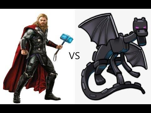 Thor VS EnderDragon
