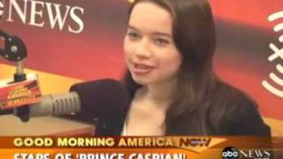 Interview radio de William Moseley end Anna Popplewell Thumbnail