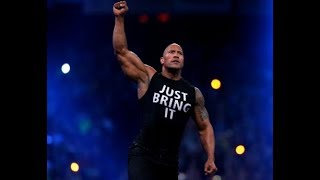 The Rock Returns To The Raw! 19 November 2018