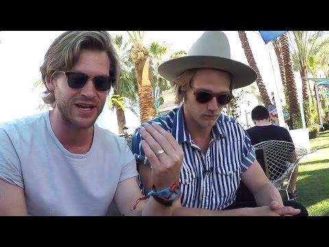 Jamestown Revival Interview at Coachella
