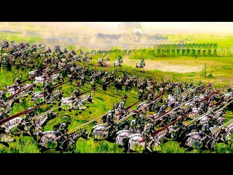 The Empire vs Vampire Counts  - Total War WARHAMMER Cinematic Battle