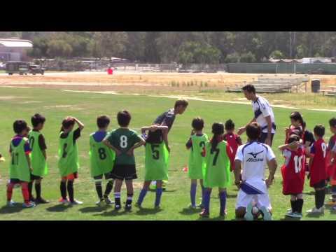 2016 Keisuke Honda Soccer Clinic - AC Milan - Brett 7 Years Old