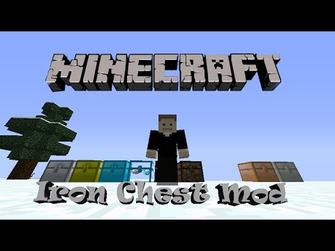Iron Chest Mod Para Minecraft 1.7.10 Y 1.7.2   Cofres Op ...
