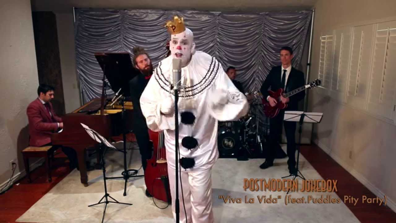 Viva Vida From Super Bowl Sad Clown Style Coldplay Cover Puddles Pity Party Youtube