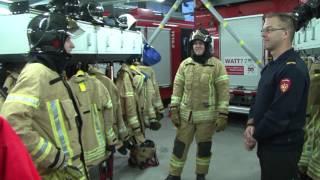 De Stage: Wouter bij de brandweer