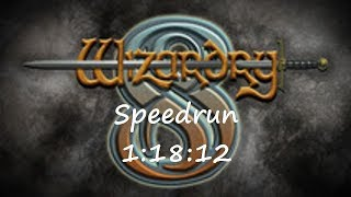 Wizardry 8 expert Any% speedrun (1:18:12) with commentary
