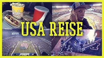 NFL Live im Stadion - New York Giants vs Detroit Lions [USA VLOG]