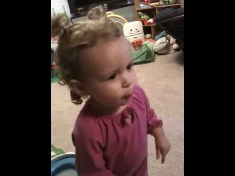 20 Month Old Talking About Poop