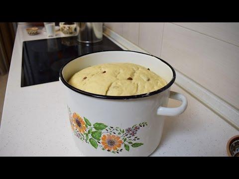 Нечерствеющее дрожжевое тесто / Быстрое и пышное тесто для выпечки