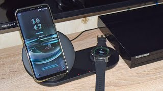 Samsung Wireless Charger Duo for Smartphone and Watch 2018