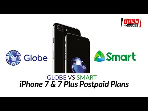 Comparison: Globe & Smart iPhone 7 Plans