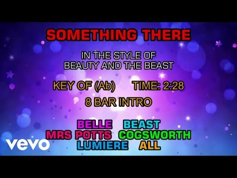 Ensemble - Beauty and the Beast - Something There (Karaoke)