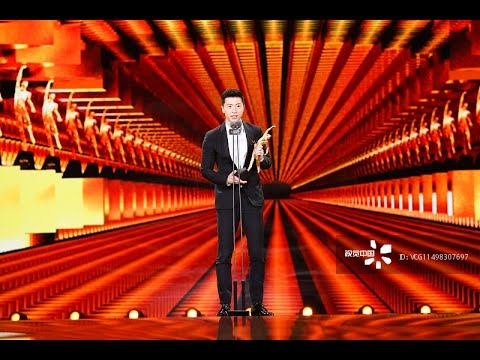20170115 Ma Long accepting CCTV Sports Personality Awards