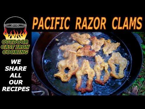 Pacific Razor Clams