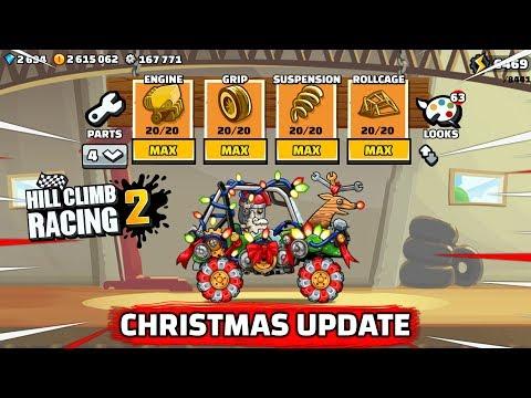 Hill Climb Racing 2 - CHRISTMAS UPDATE 1.32.0 NEW LOOKS