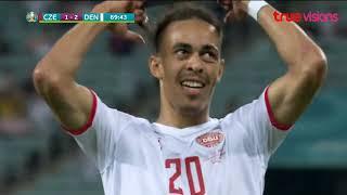 ไฮไลท์ฟุตบอล ยูโร 2020 รอบก่อนรองชนะเลิศ สาธารณรัฐเช็ก พบ เดนมาร์ก(ไฮไลท์)