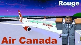 ROBLOX | Air Canada Rouge Boeing 767-300 Flight