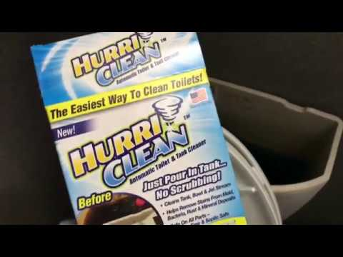Hurriclean Automatic Toilet Tank Cleaner Review As Seen