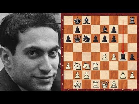 Mega-exciting notable game: Mikhail Tal vs Nievergelt - Zurich 1959