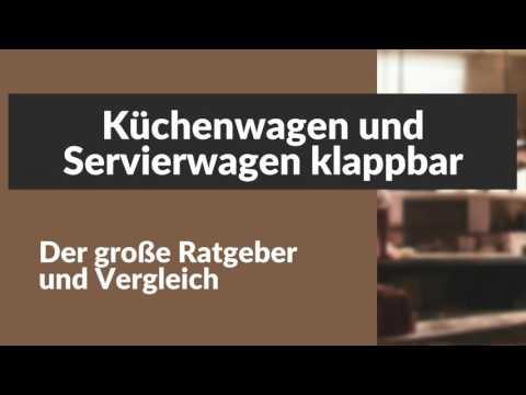 Kuchenwagen Und Servierwagen Klappbar