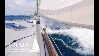 Worst night sail ever! Ep 25 Hilma Sailing
