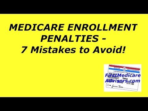 Medicare Enrollment Penalties