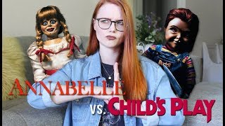 BATTLE OF THE DOLLS | CHILD'S PLAY & ANNABELLE COMES HOME REVIEW