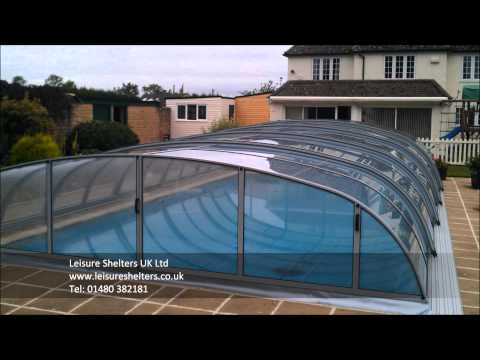 Dallas swimming pool enclosure from Leisure Shelters UK Ltd - Tel: 01480 382181