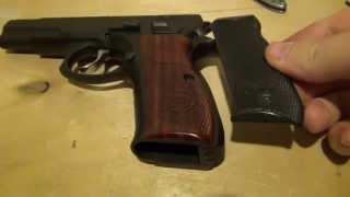 CZ-75 Upgrades - CZ Custom Shop Grips / Fiber Optic Sights