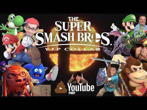 The Super Smash Bros. YTP Collab thumbnail
