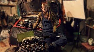 Ремонт двигуна.   Качині історії #2