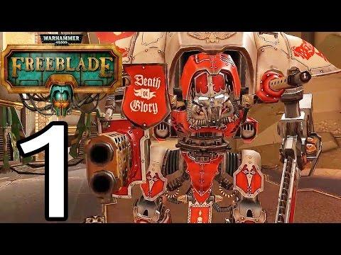 Warhammer 40,000: Freeblade - iPhone Gameplay Walkthrough Part 1