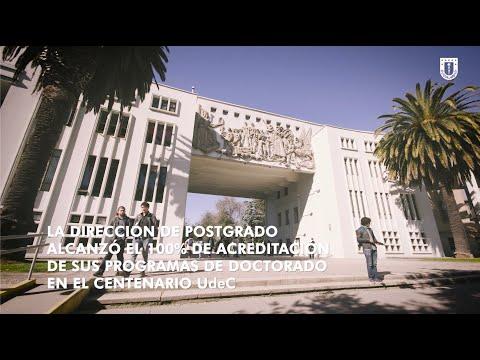 #PostgradoUdeC: Totalidad de programas de doctorado #UdeC acreditados
