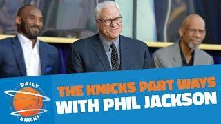 The New York Knicks Part Ways With Phil Jackson