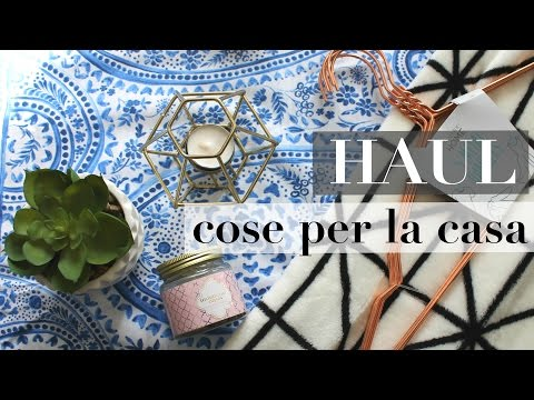 HAUL: Cose per la casa - Primark, H&M Home, New Look