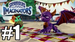 Skylanders Imaginators Gameplay Walkthrough Part 1 - PS4