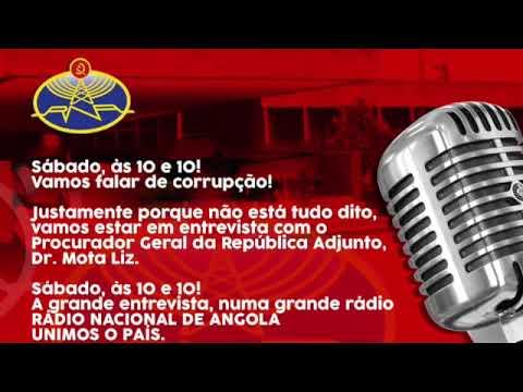 10 e 10 - Rádio Nacional de  Angola.